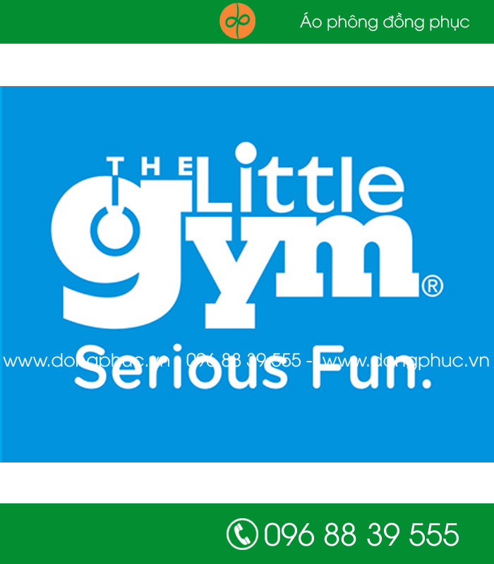 May đồng phục công ty The little GYM
