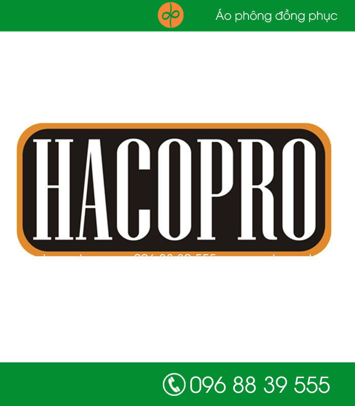 May đồng phục cho HACOPRO