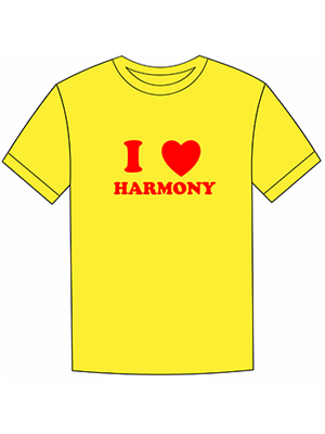 May đồng phục Harmony
